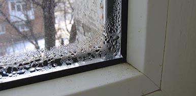 Конденсат на стенах и окнах - что делать?