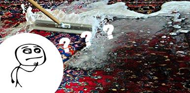 Как высушить ковер или ковролин в домашних условиях